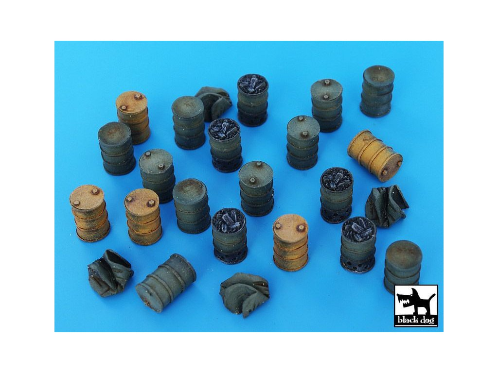 Barrels accessories set /sudy 1:72