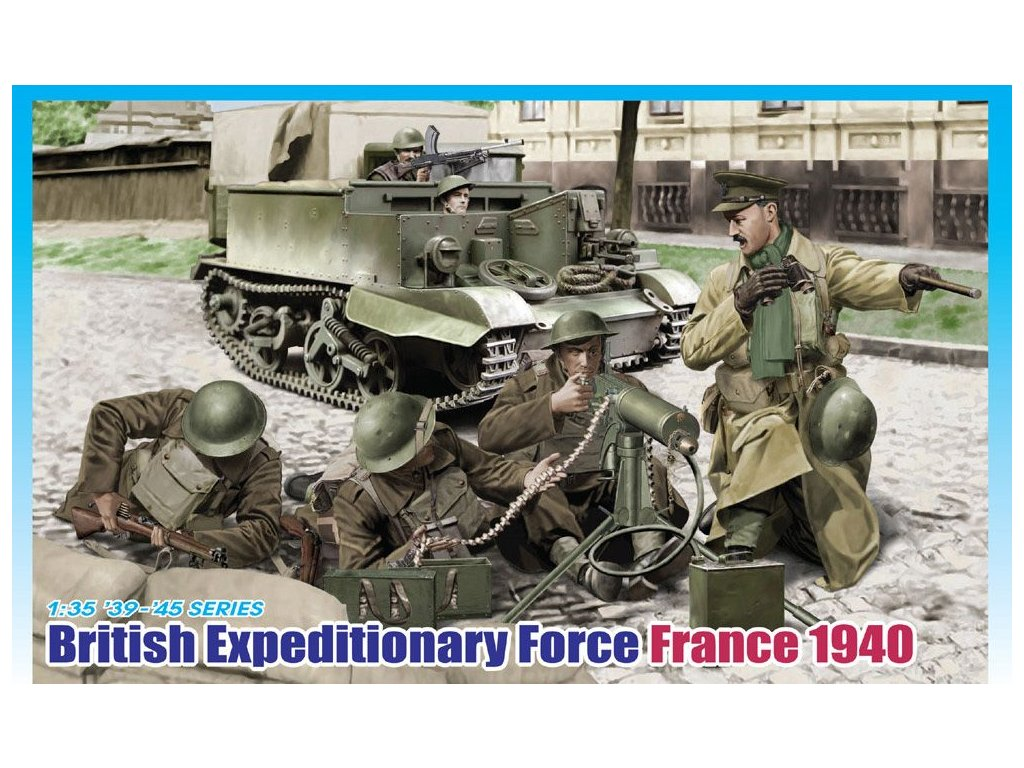 British Expeditionary, Force France 1940 1:35