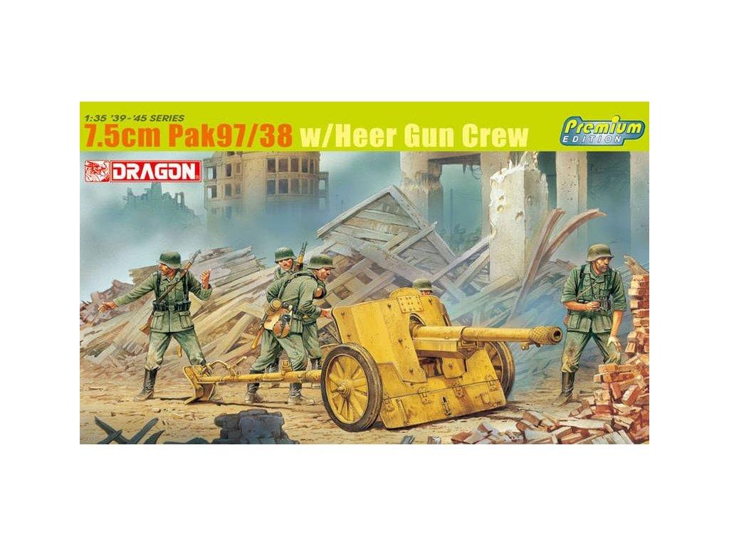 7.5cm PaK 97/38 w/Heer Gun Crew 1:35
