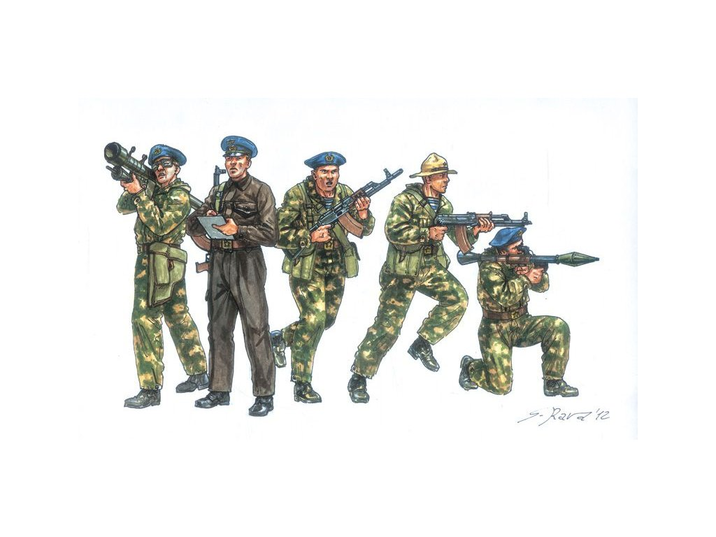 Soviet Special Forces 80s 1:72