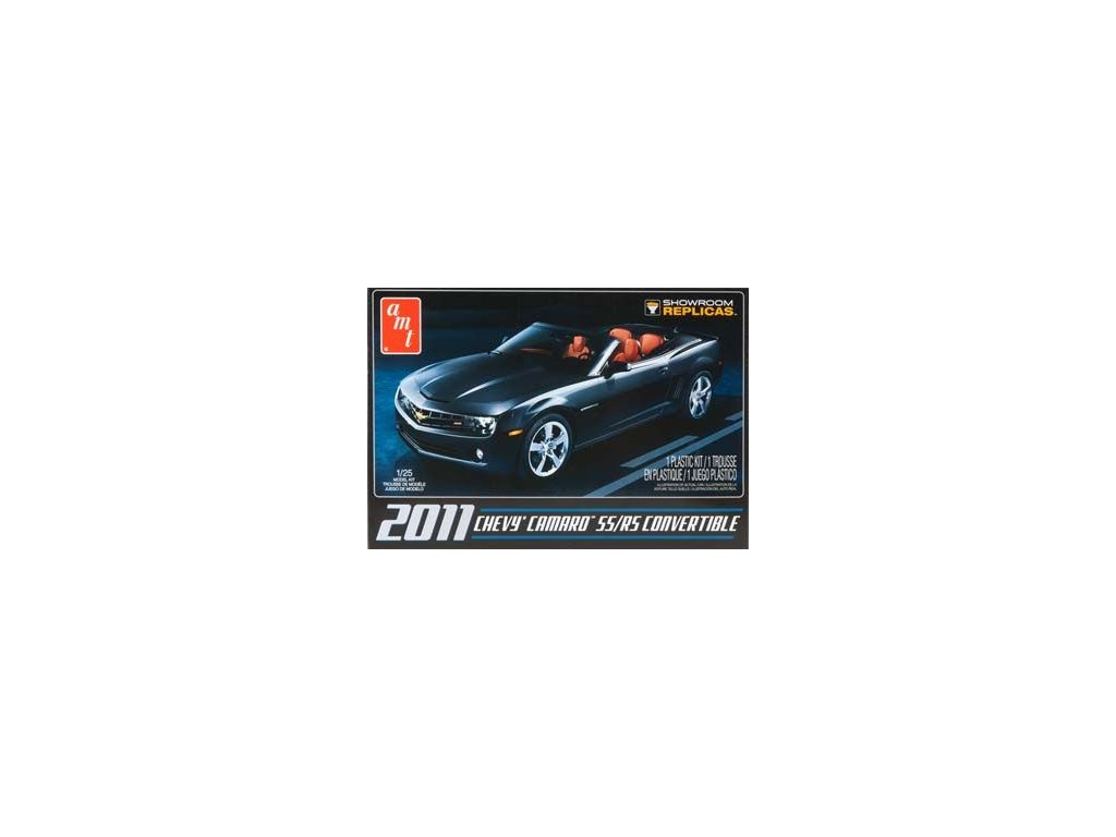 Chevy Camaro SS/RS 2011 Convertible 1:25