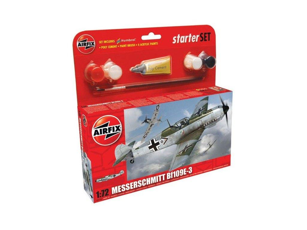 Messerschmitt Bf 109E Starter Set 1:72