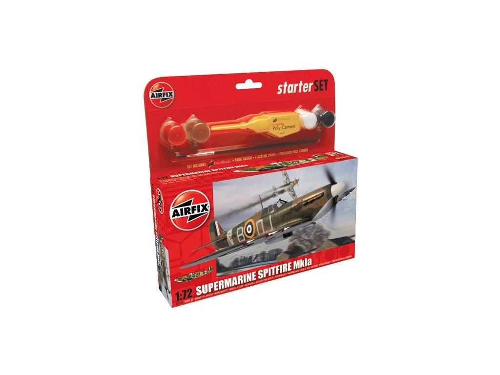 Supermarine Spitfire MkIa Starter Set 1:72