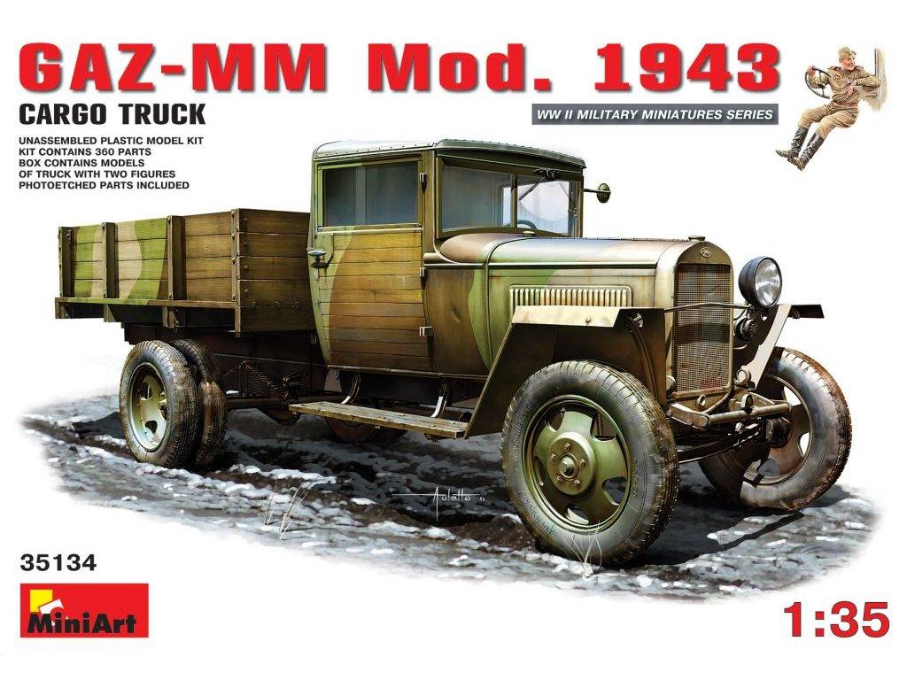 GAZ-MM Mod. 1943 1:35