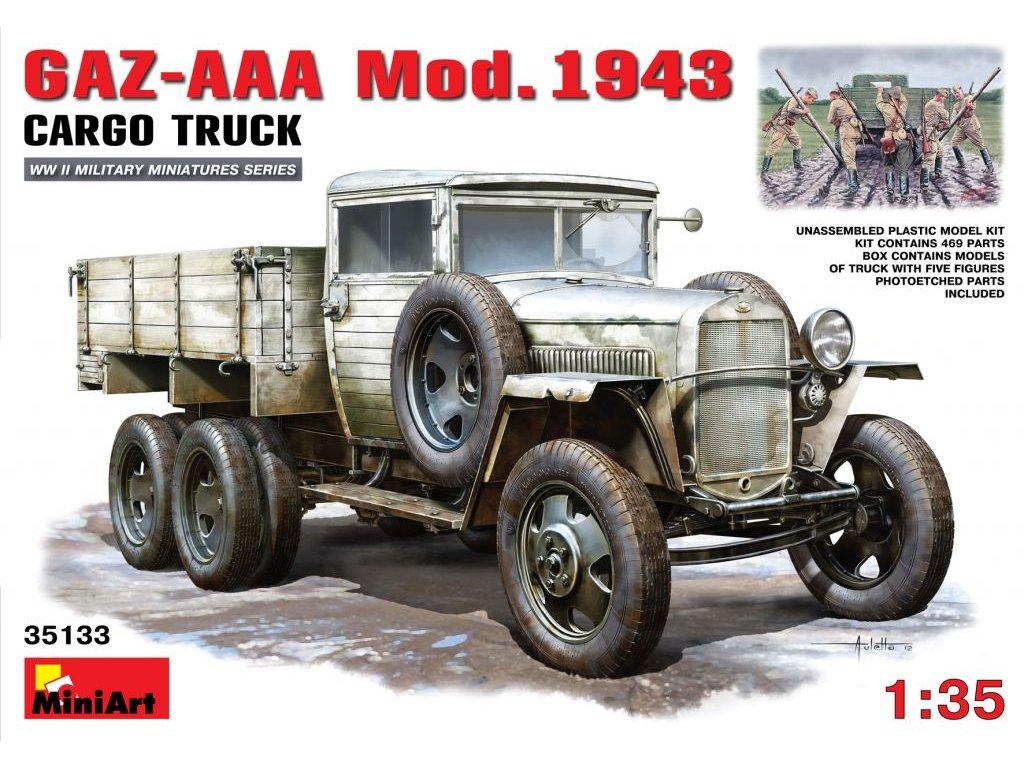 GAZ-AAA mod. 1943 1:35