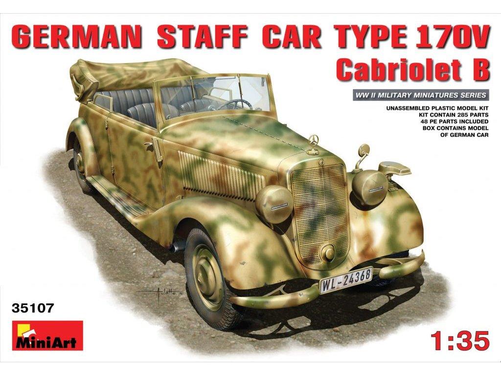 German Staff Car Type 170V Cabriolet B 1:35