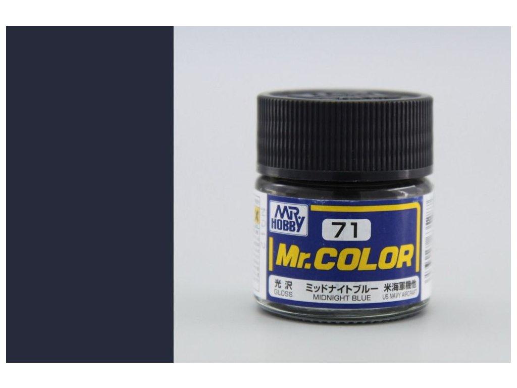 C071 polnočná modrá