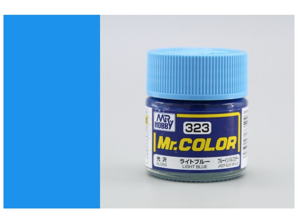 C323 svetlo modrá