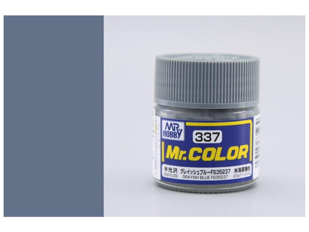 C337 FS35237 šedo modrá