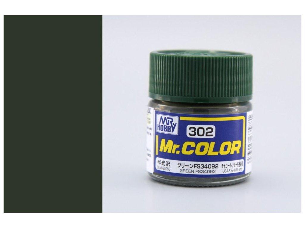 C302 FS34092 zelená