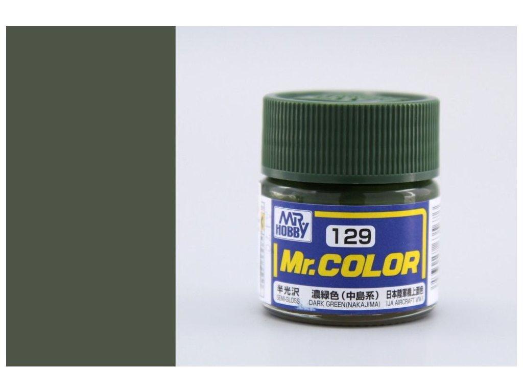 C129 tmavo zelená (Nakajima)