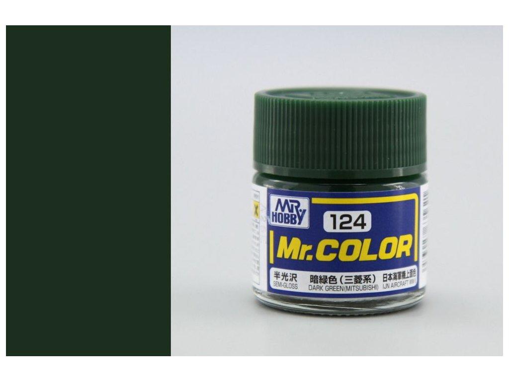 C124 tmavo zelená (Mitsubishi)
