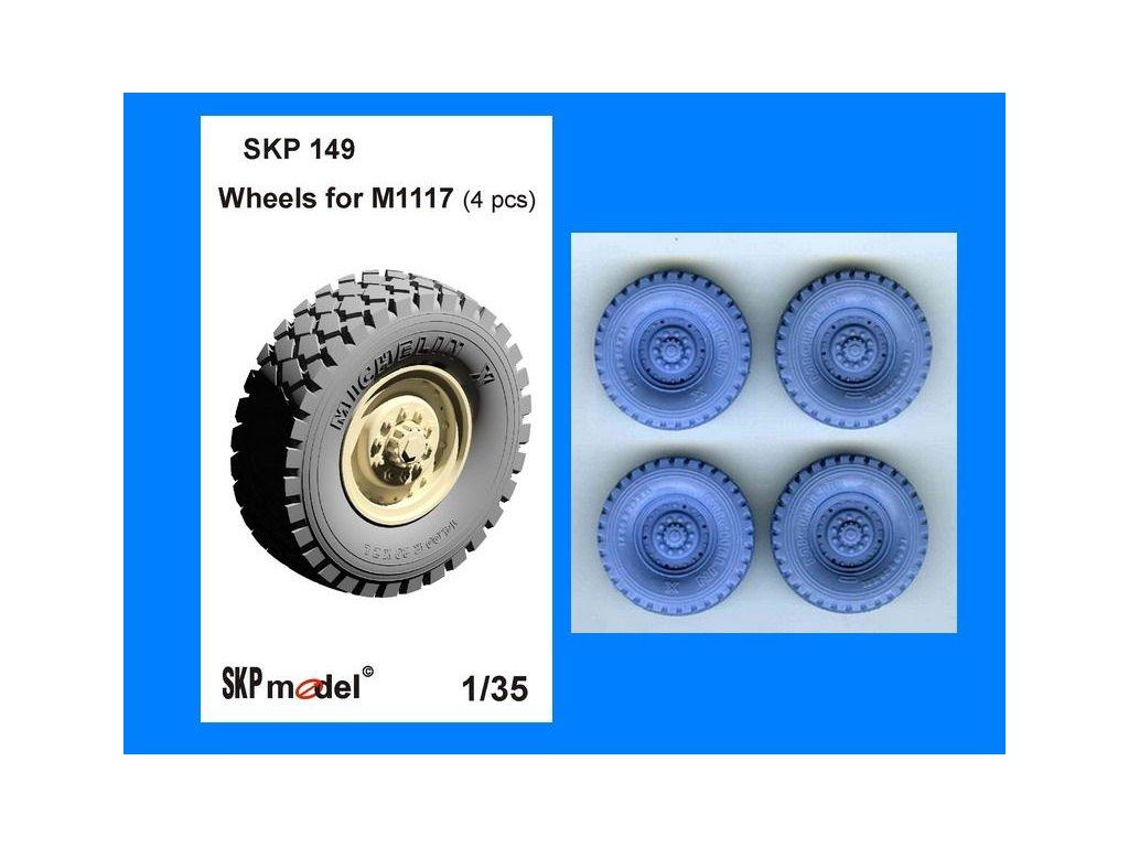 kolesá pre M1117 1:35