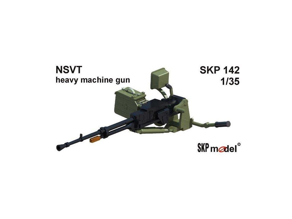 NSVT - HEAVY MACHINE GUN / guľomet 1:35