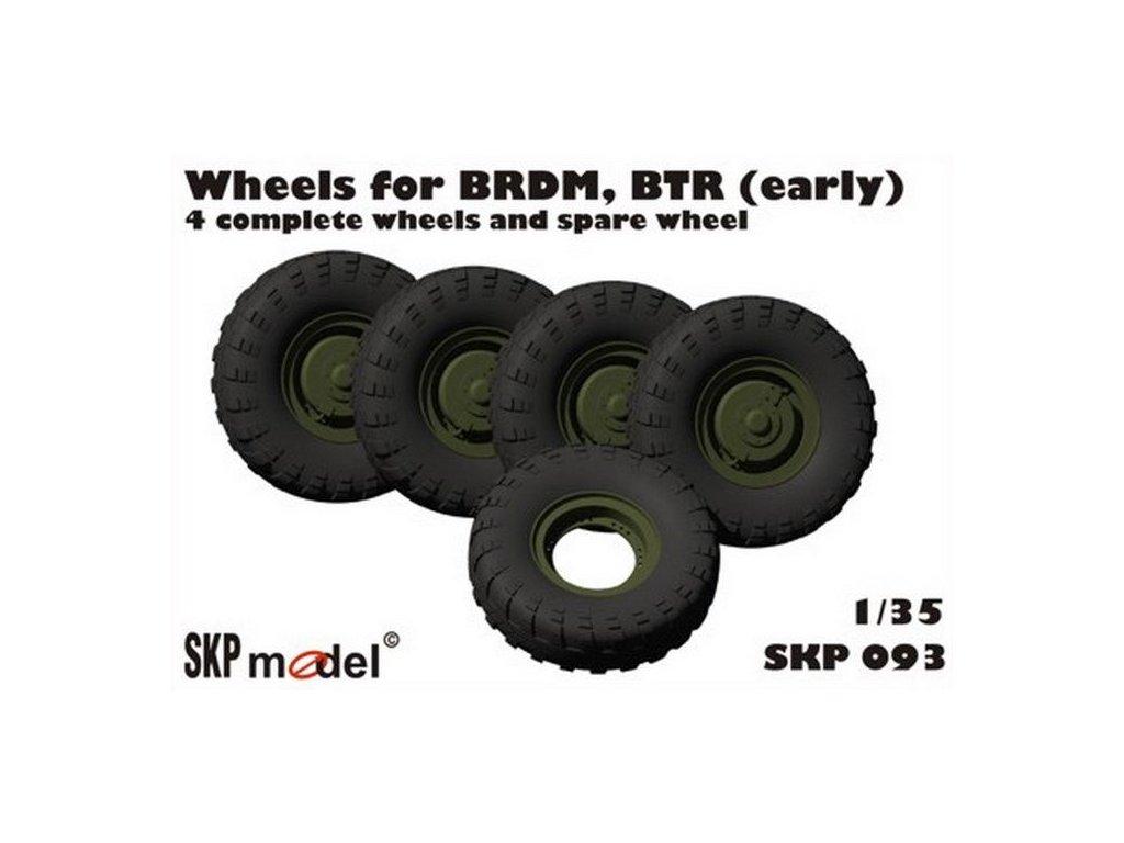 kolesá pre BTR, BRDM (early) 1:35