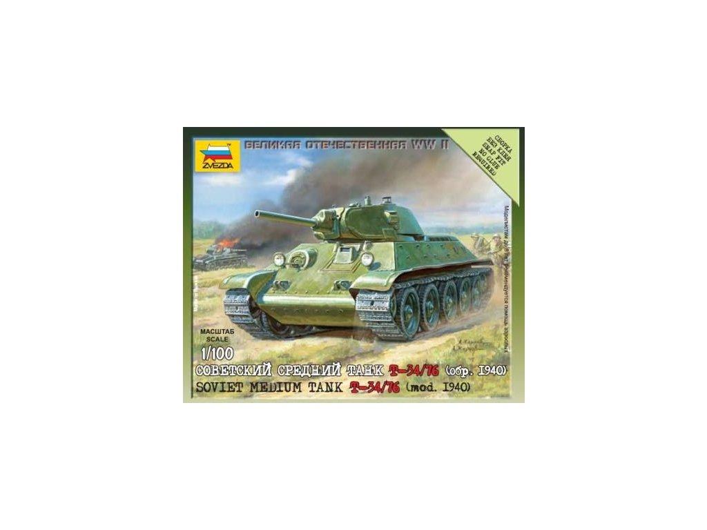 Sovietsky tank T-34/76 1:100