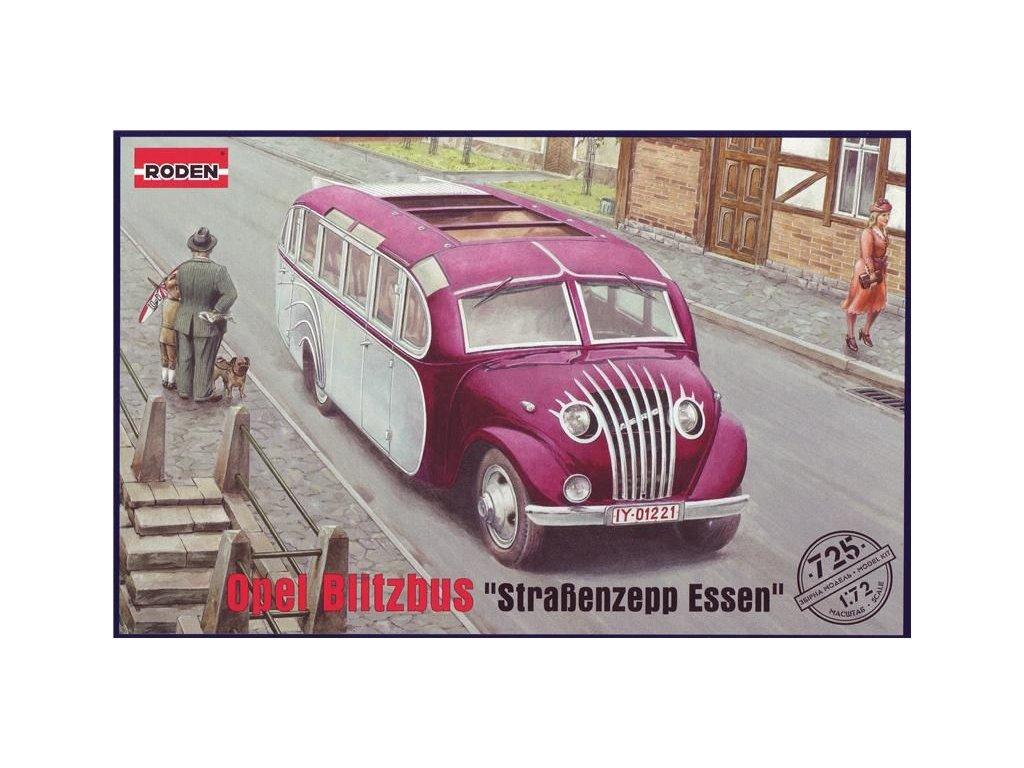 Opel Blitzbus 'Straßenzepp Essen' 1:72