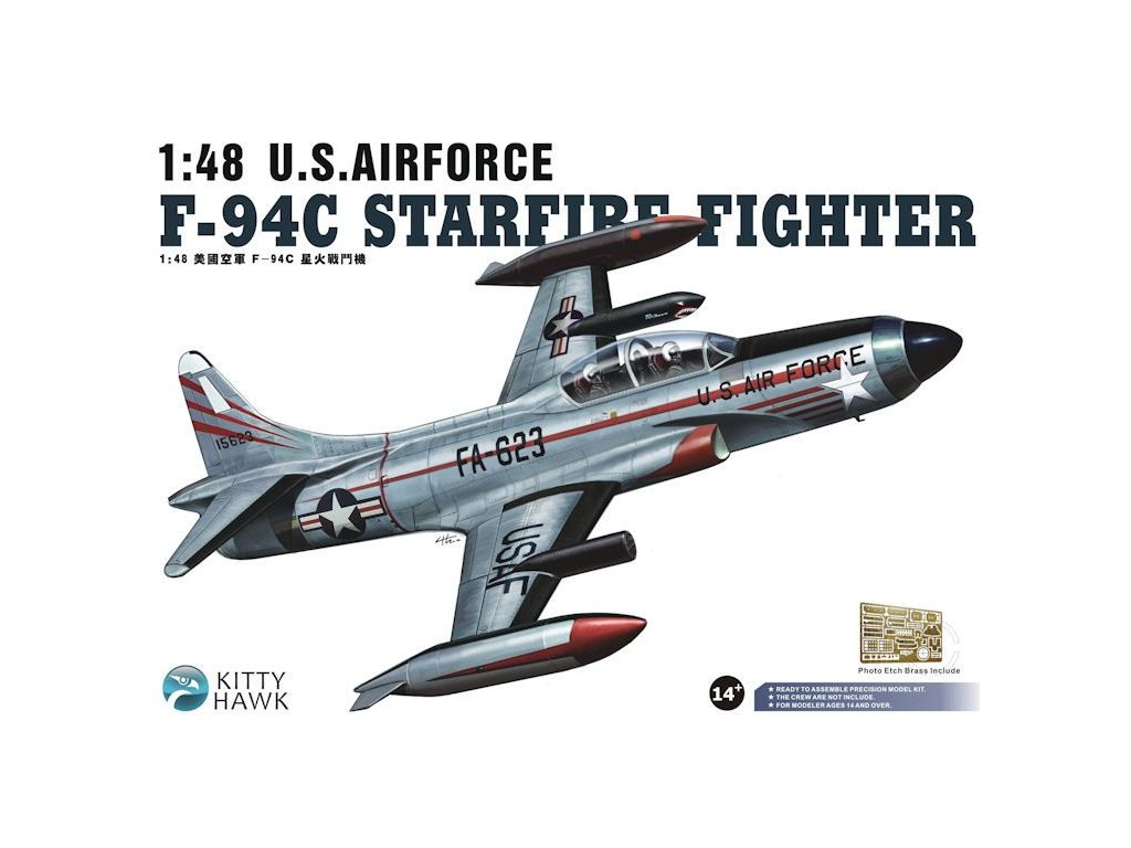 Lockheed F-94C Starfire 1:48