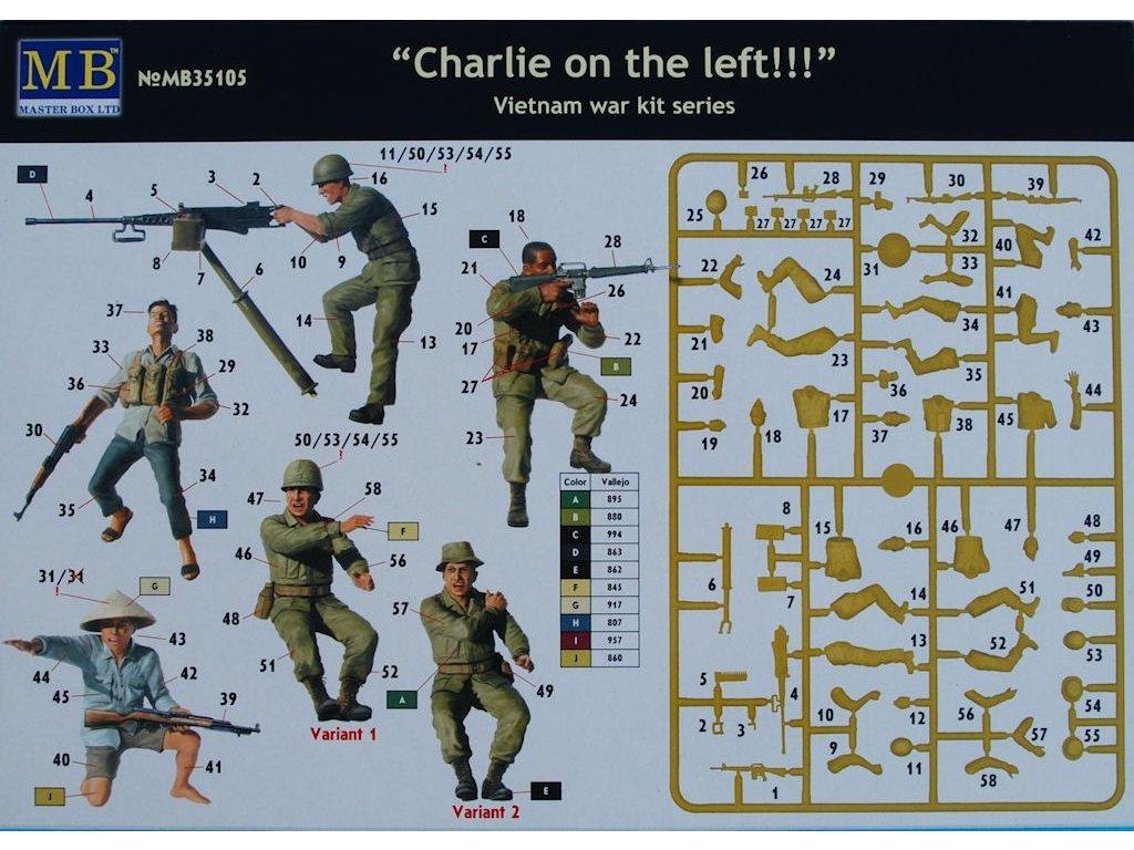 Charlie on the left!!!' (5 fig.) 1:35
