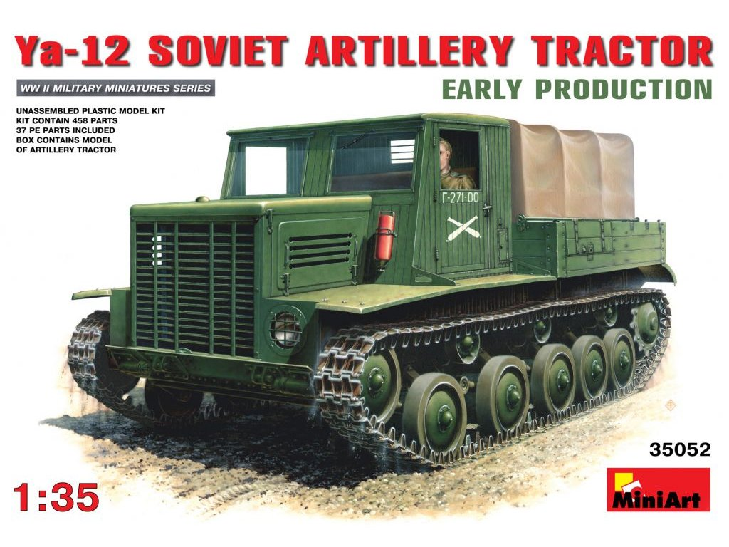 Ya-12 SOVIET ARTILLERY TRACTOR / delostrelecký ťahač 1:35