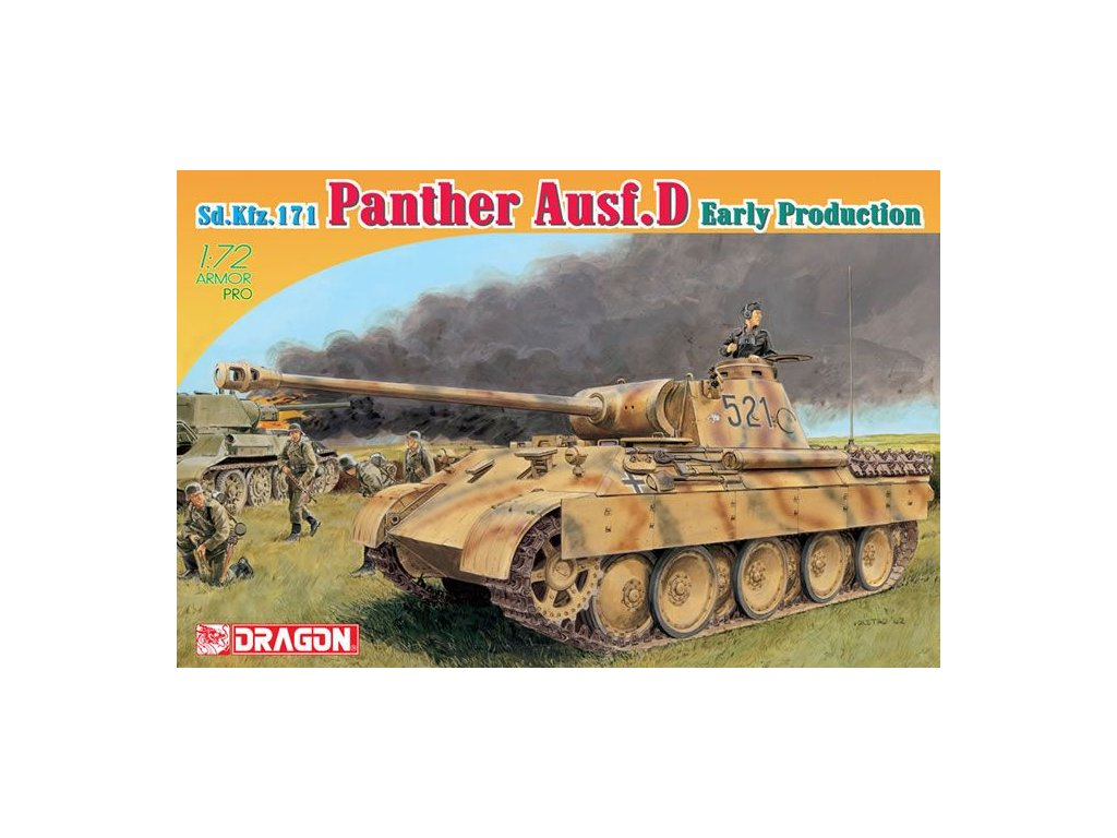 Sd. Kfz. 171 Panther, Ausf. D early 1:72