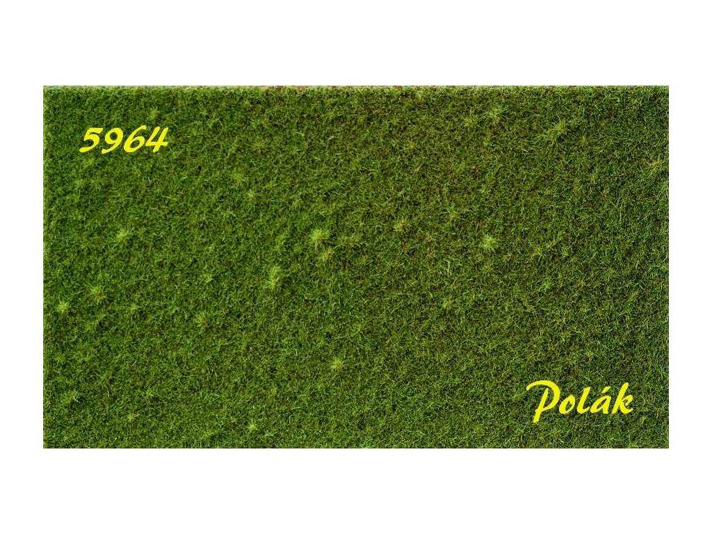 Strukturstat hrubý - Zelená stredná (27x21cm)