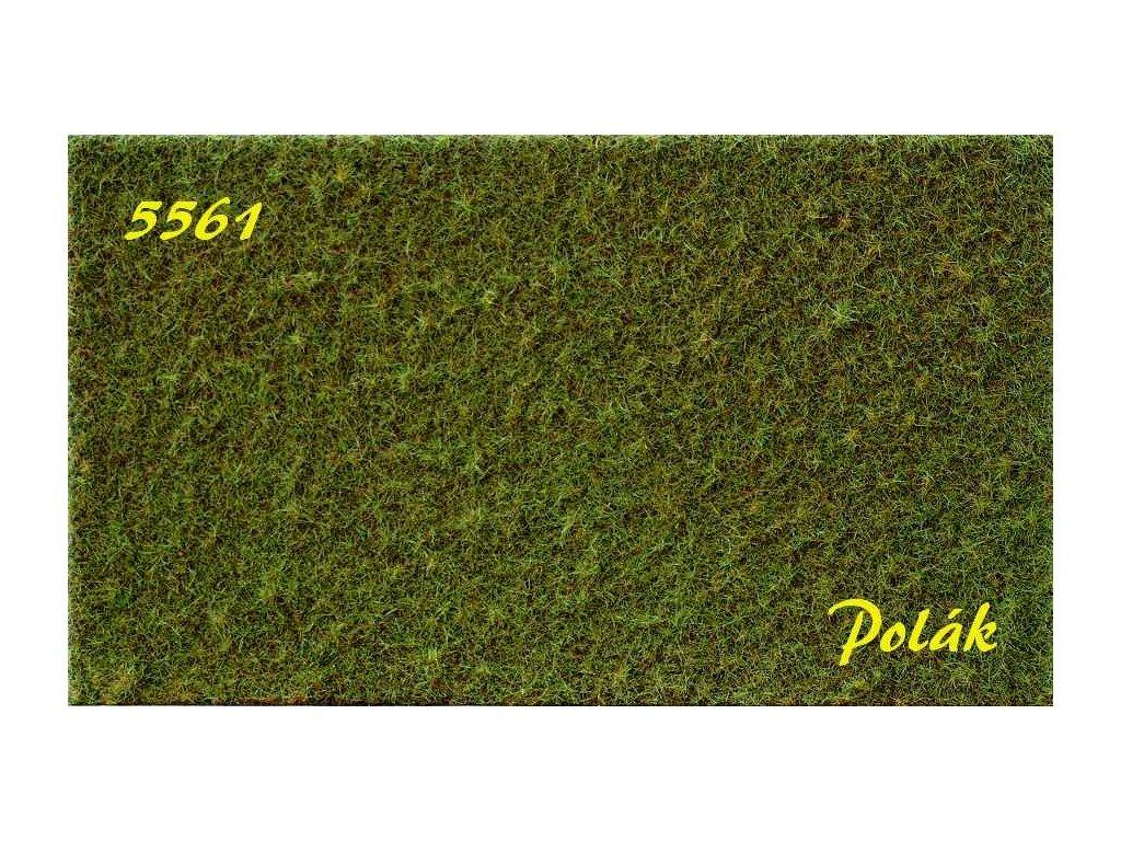 Strukturstat hrubý - Zelená jarná (27x21cm)