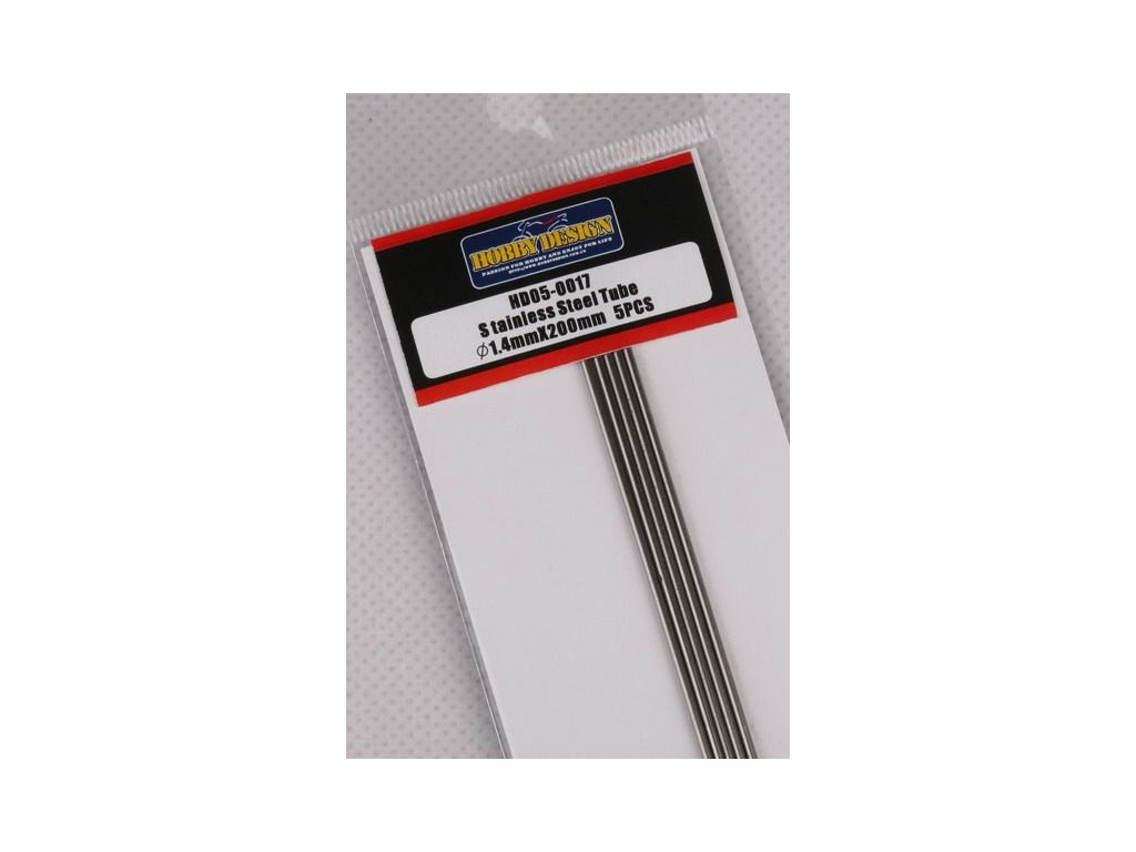 Trubice z nerezovej ocele / Stainless Steel Tube 1.4mm*200mm