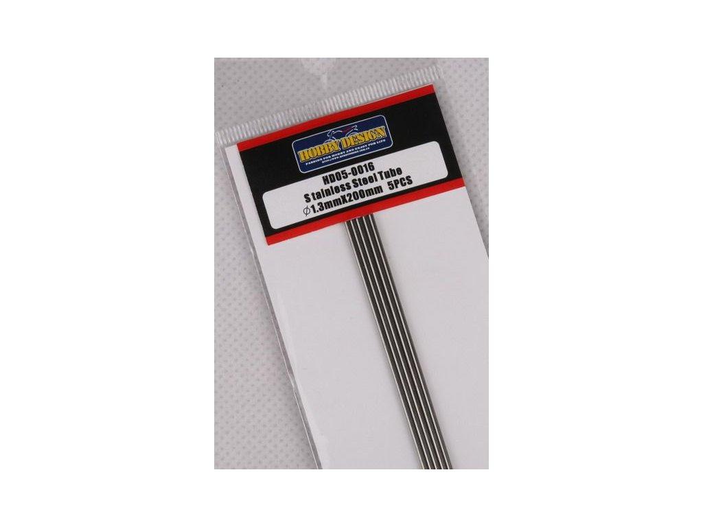 Trubice z nerezovej ocele / Stainless Steel Tube 1.3mm*200mm