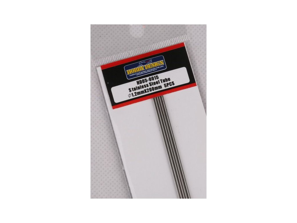 Trubice z nerezovej ocele / Stainless Steel Tube 1.2mm*200mm