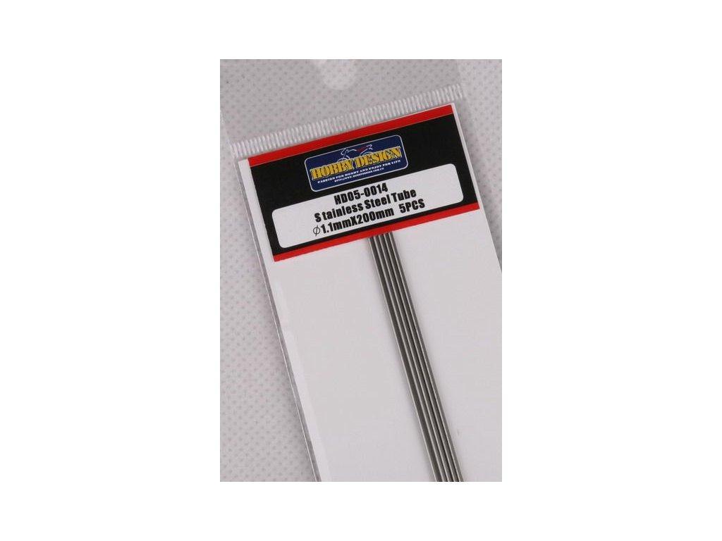 Trubice z nerezovej ocele / Stainless Steel Tube 1.1mm*200mm