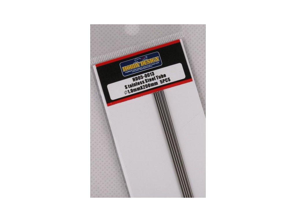 Trubice z nerezovej ocele / Stainless Steel Tube 1.0mm*200mm