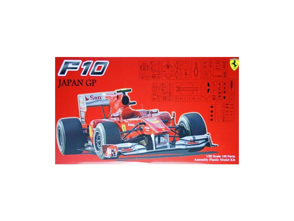 Ferrari F10 Japan GP 1:20