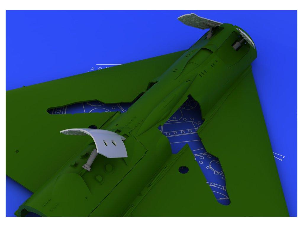 MiG-21 brzdové štíty, neskorá verzia (Eduard) 1:48