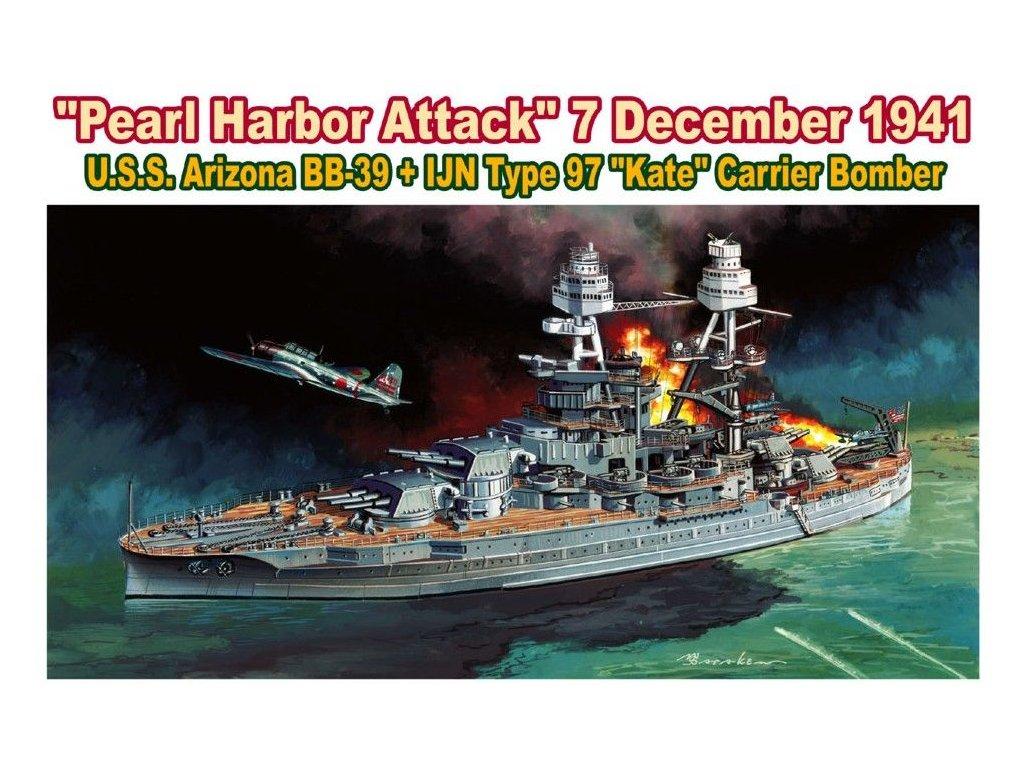 USS Arizona 1:700