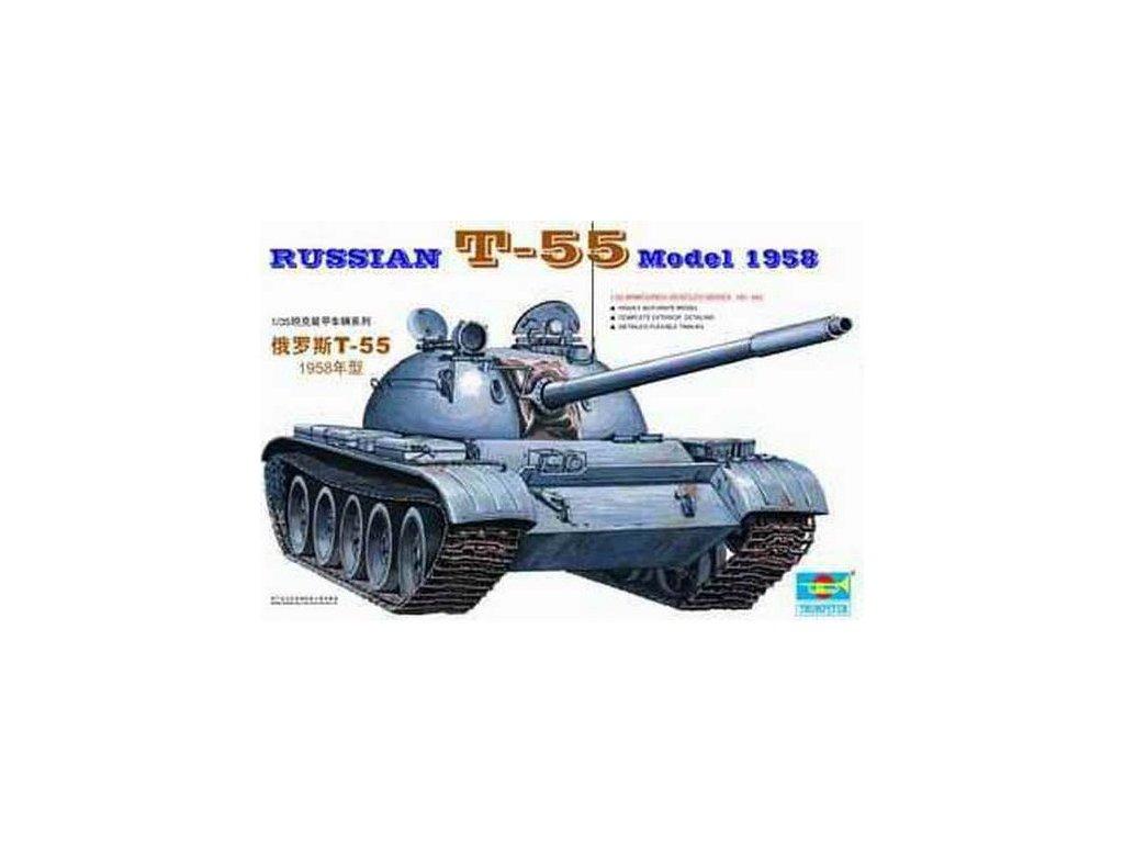 T-55 Rusko, Model 1958 1:35