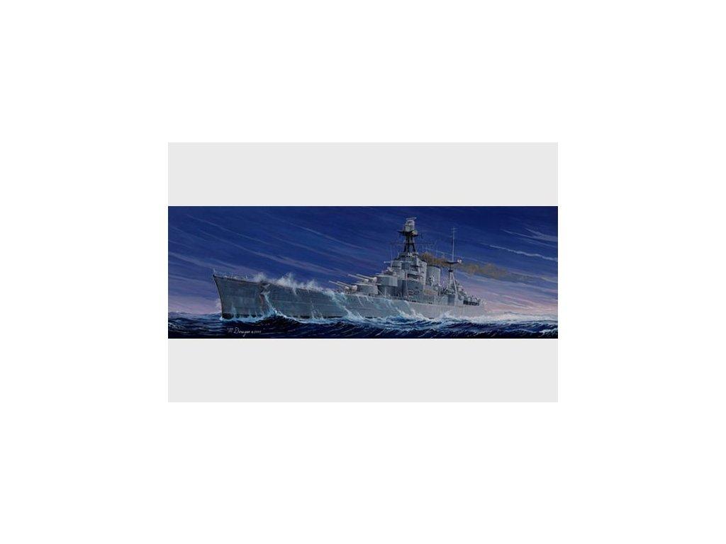 HMS HOOD 1:350