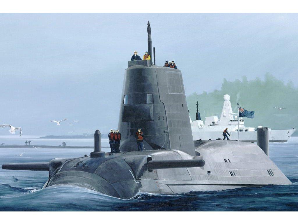HMS Astute 1:350