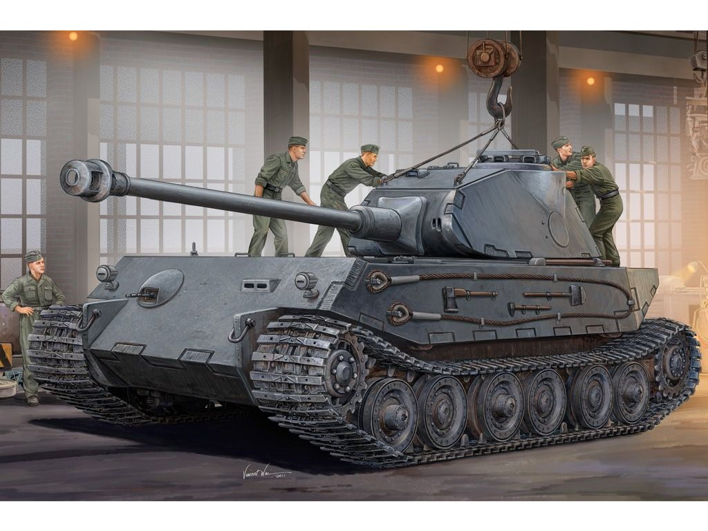 German VK4502 (P) Hintern 1:35