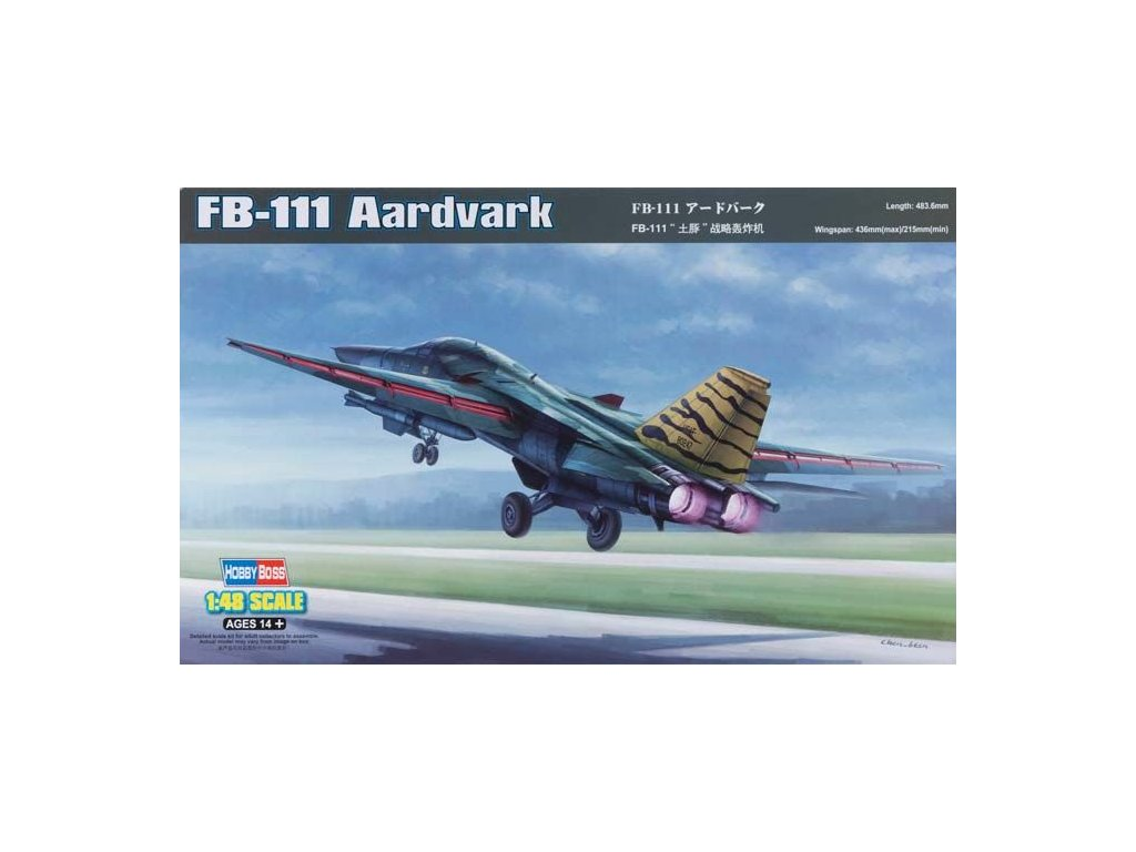 General Dynamics FB-111 Aardvark 1:48