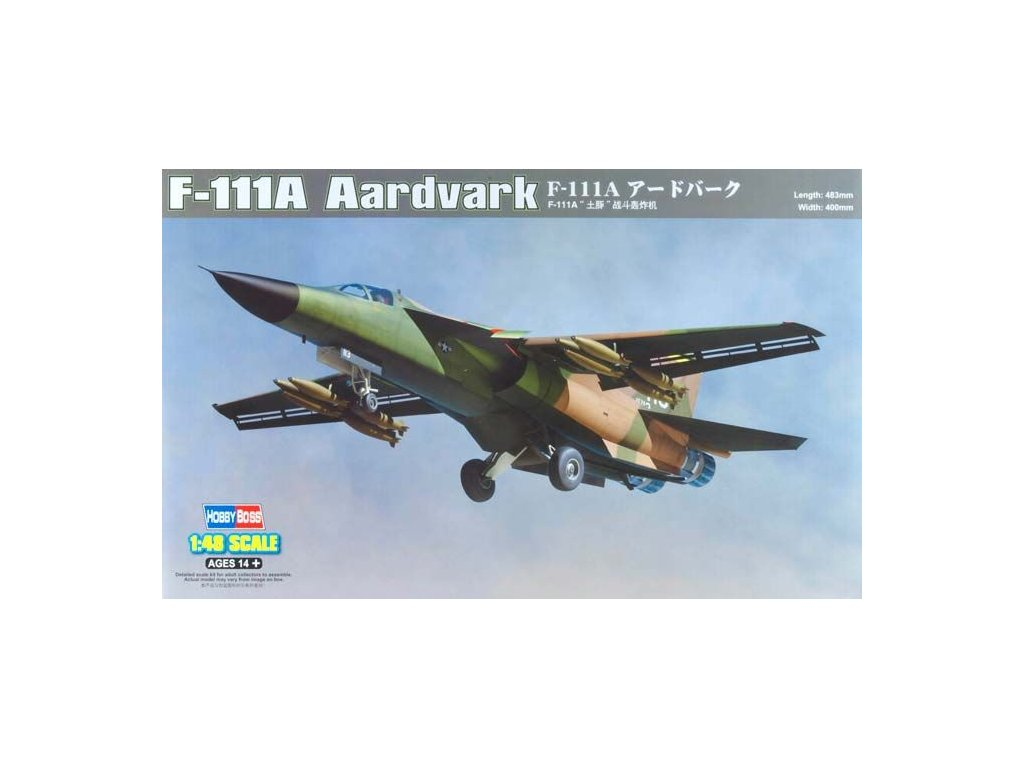 General Dynamics F-111A Aardvark 1:48