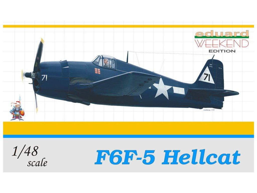Grumman F6F-5 Weekend 1:48