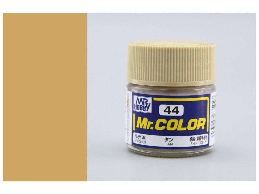 C044 Tan - Žltohnedá