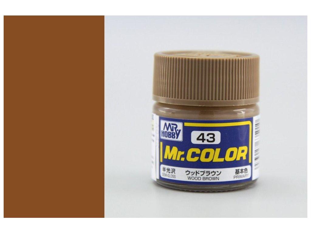 C043 Wood Brown - Farba dreva