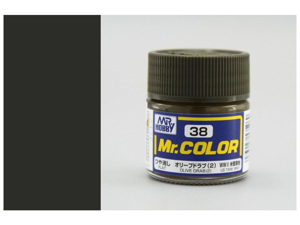 C038 Olive Drab (2) - Olivová