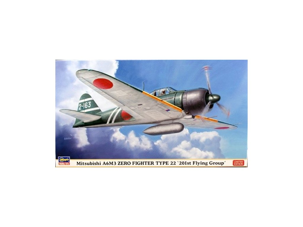 "Mitsubishi A6M3 Zero Type 22 ""201st Flying Group"" 1:48"