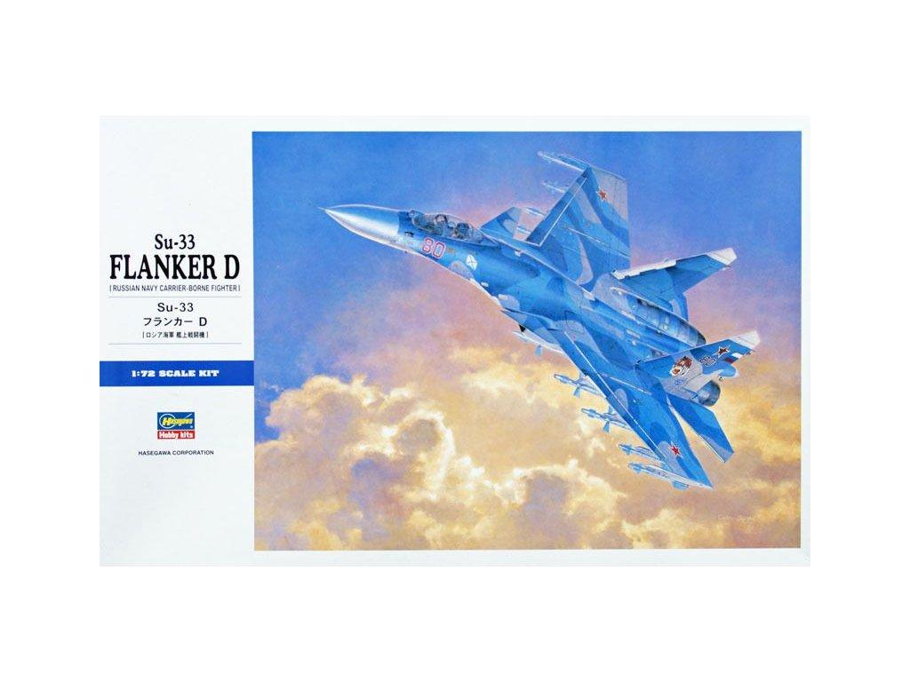 Sukhoi Su-33 Flanker D 1:72