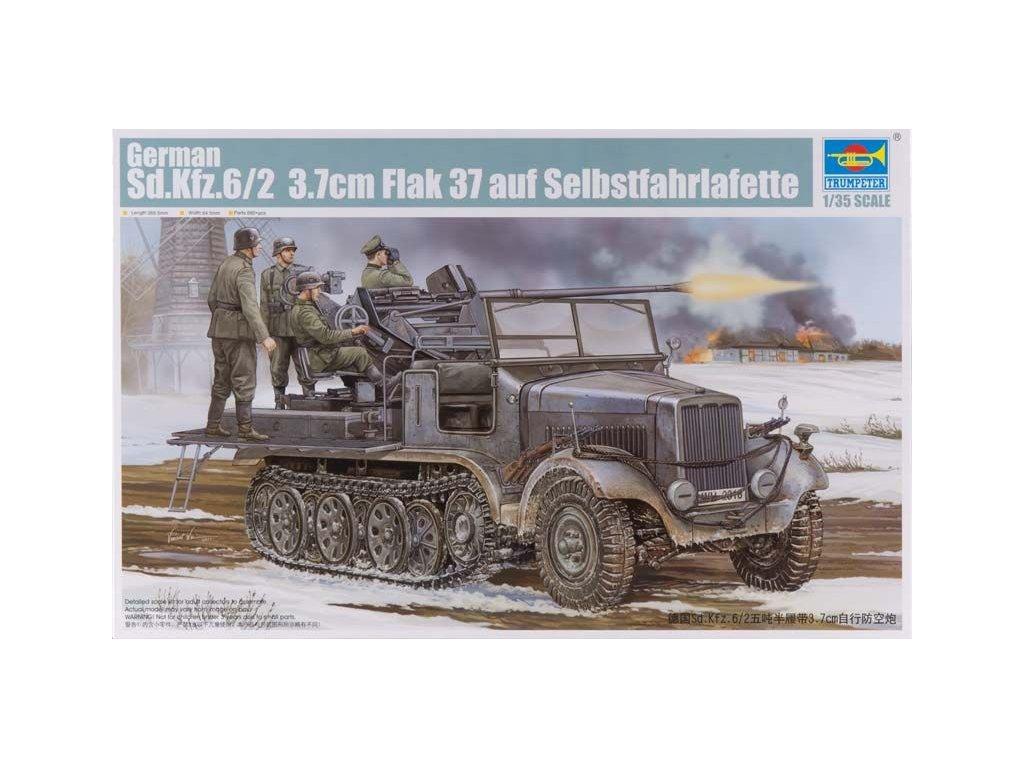 SdKfz 6/2 Flak 37 mit Selbstfahrlafette 1:35