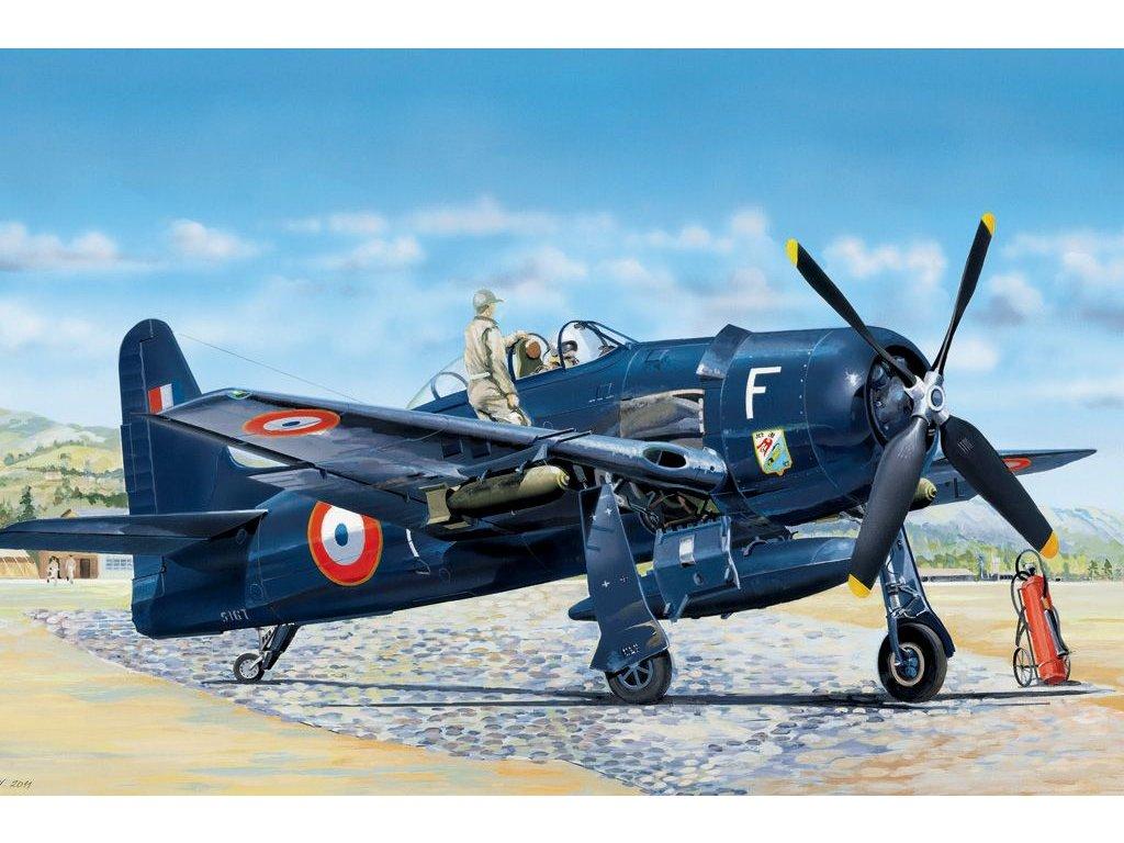 Grumman F8F-1B Bearcat 1:48