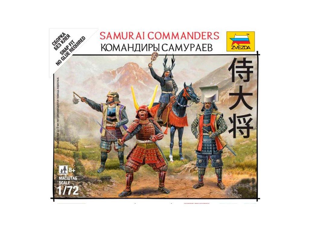 Velitelia samurajov / Samurai Commanders 1:72